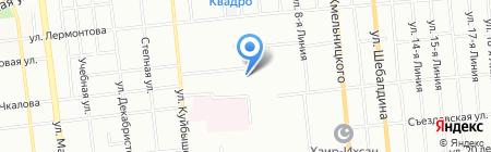 Школа телевидения и шоу-бизнеса Алексея Гализдры на карте Омска