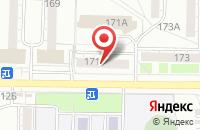 Схема проезда до компании Дв Инвестторг в Омске