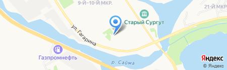 Дом купца А.Г. Клепикова на карте Сургута