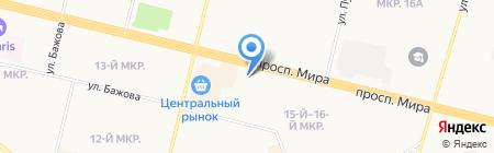 Аналитик Групп на карте Сургута