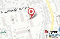 Схема проезда до компании Омский Ресурс в Омске