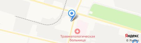 ТРИСКАЛЬ на карте Сургута