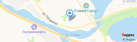 ЖЭУ №3 на карте Сургута