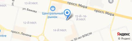 Надежда на карте Сургута