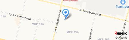 Служба оформления документов на карте Сургута
