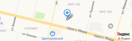 Мебелюкс-С на карте Сургута