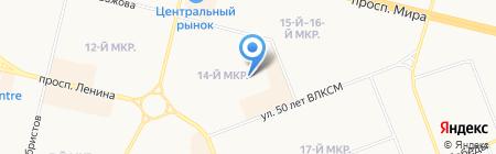 Детский сад №40 на карте Сургута