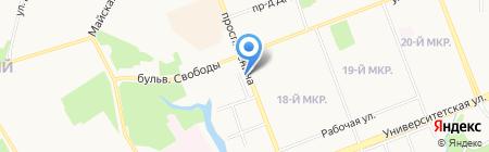 Mail Boxes Etc на карте Сургута