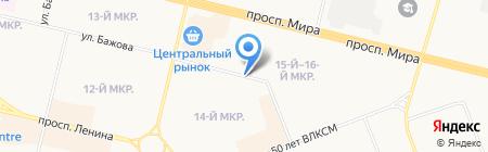 101 роза на карте Сургута