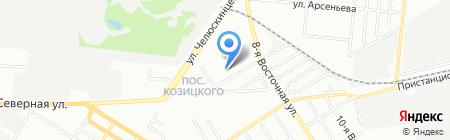 Детский сад №138 на карте Омска
