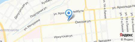 Виктория на карте Омска