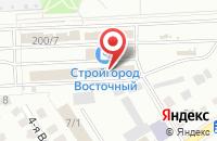 Схема проезда до компании ОмскТехноСервис в Александровке