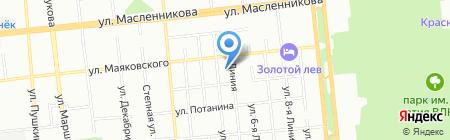 Эксперт-Сервис на карте Омска