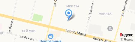 Профэнергомед на карте Сургута