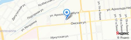 Арт-Инфо на карте Омска