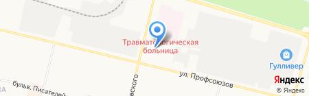 Стройкурс на карте Сургута