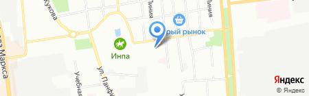 ХАДО на карте Омска
