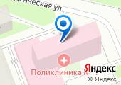Клиническая городская поликлиника №1 на карте