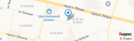 Городская аптека на карте Сургута