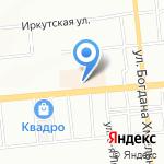 Bliss на карте Омска