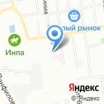 Симби на карте Омска