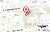 Схема проезда до компании Звездный Проспект в Омске