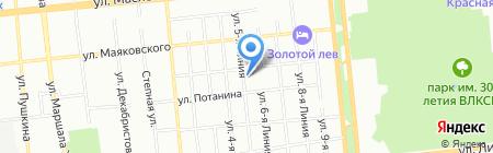 Омскопторг на карте Омска