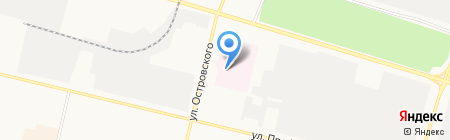 Сургутская клиническая травматологическая больница на карте Сургута