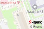 Схема проезда до компании Дамский Стиль в Сургуте