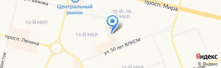Банзай Тур на карте Сургута