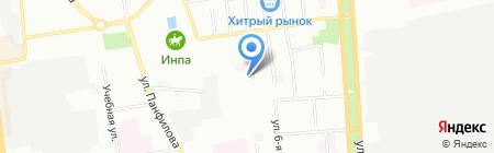 МИАСиб на карте Омска