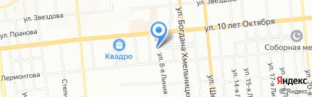 СтройКомСибирь на карте Омска