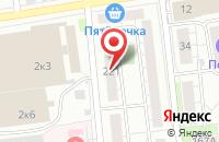 Схема проезда до компании Цех Компьютерной Вышивки Три Нити в Омске