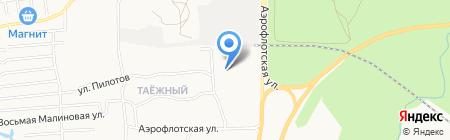 Грузовое агентство на карте Сургута