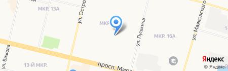 Детский сад №55 на карте Сургута