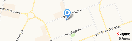 шИколад на карте Сургута