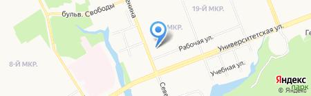 Золотой мастер Сургут на карте Сургута