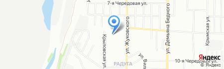 Барбария Верика на карте Омска