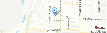 Детский сад №302 на карте Омска