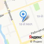 Авторизированный сервисный центр СК-групп на карте Сургута