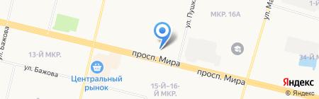 Мастер-Оптик на карте Сургута