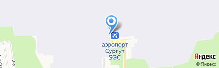 Сургуттрансагентство на карте Сургута
