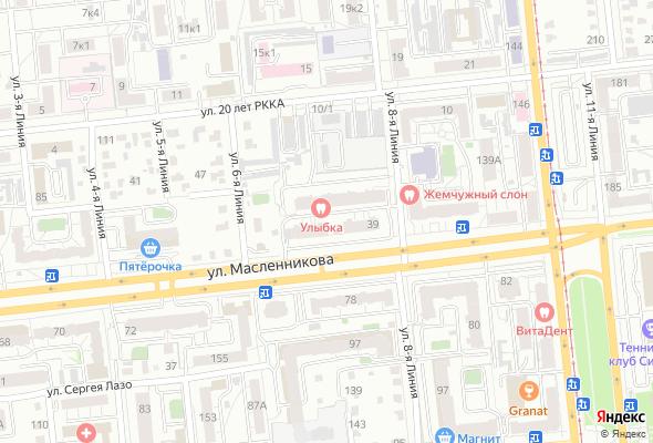 продажа квартир по ул. Масленникова, 39
