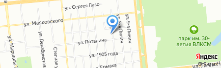 Lotus на карте Омска