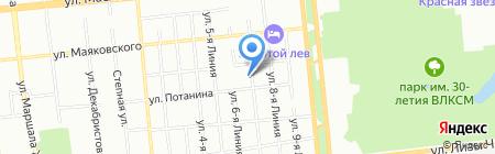 Агроресурсы на карте Омска