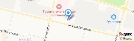 НовоВек на карте Сургута