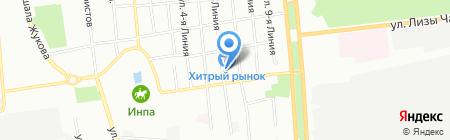 ПартнерСтройКомплект на карте Омска