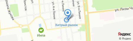 Два капитана на карте Омска