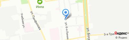 ТрансХэлп-Логистика на карте Омска