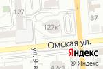 Схема проезда до компании Магнит в Омске